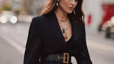 siyah blazer ceket kombin