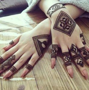 Etkileyici hint kınası el dövmeleri 2019