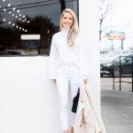 Kışın beyaz jean nasıl giyilir