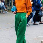Sokak modası en havalı kazak kombinleri 2020