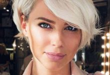 uzun yüzlü kadınlar için kısa saç modelleri 1