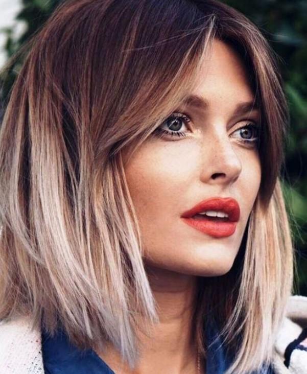 uzun yüzlü kadınlar için saç modelleri