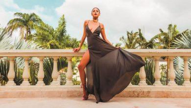 Yazlık yırtmaçlı elbise modelleri 2020