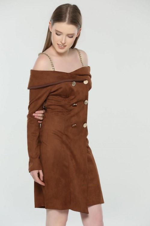 Zincir askılı elbise 2020