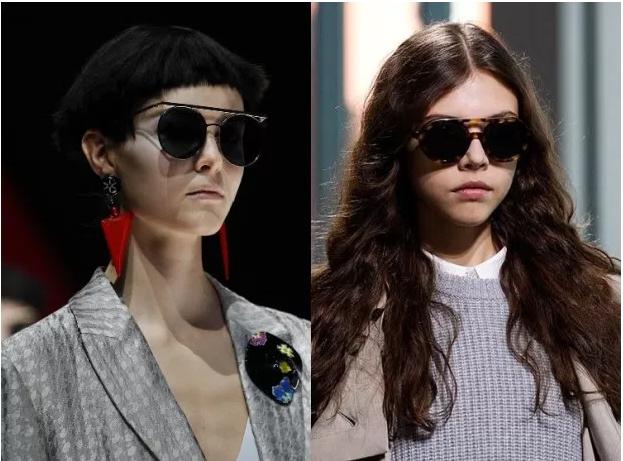 2020 İnce Kenarlı Destekli Gözlük Modelleri