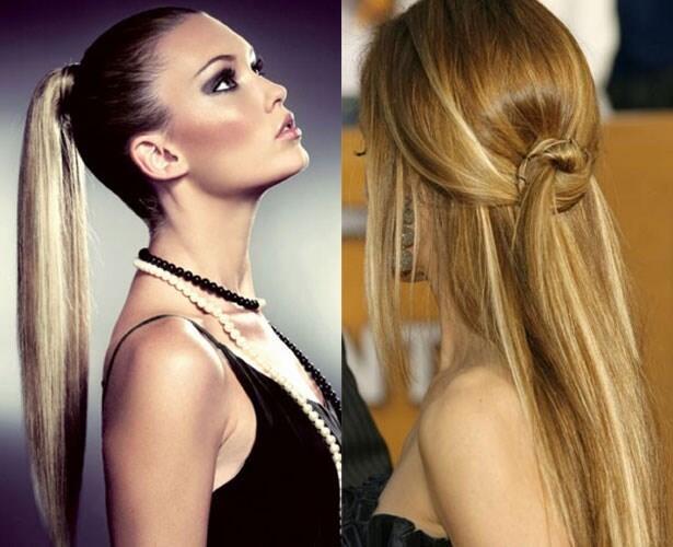 İş Kadınları Düz Saç Modelleri